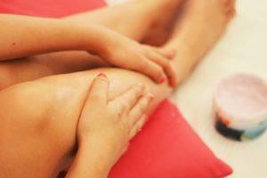 Well-groomed feet